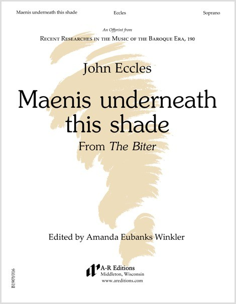 Eccles: Maenis underneath this shade