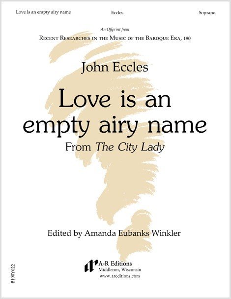 Eccles: Love is an empty airy name