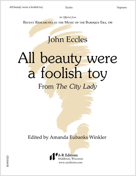 Eccles: All beauty were a foolish toy