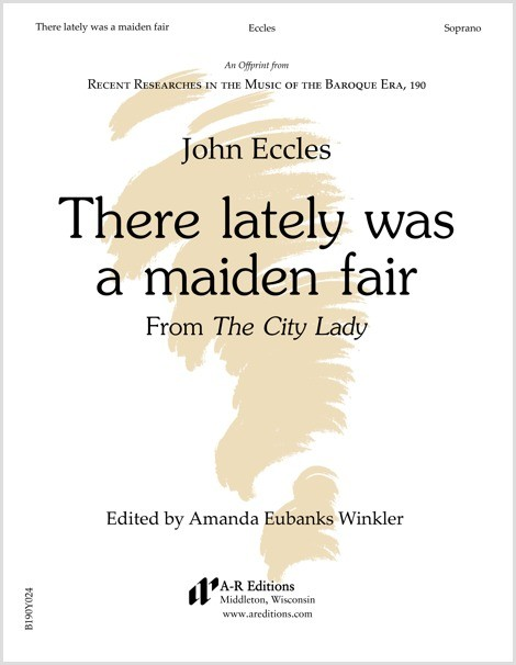 Eccles: There lately was a maiden fair