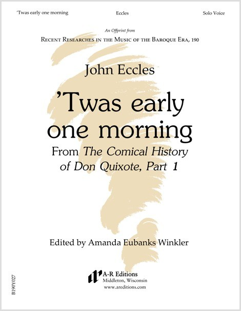 Eccles: 'Twas early one morning