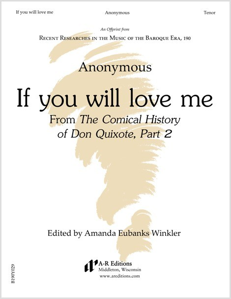 Anonymous: If you will love me