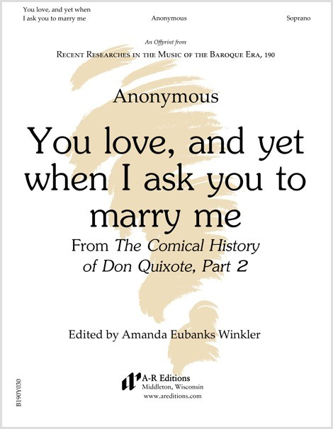 Anonymous: You love, and yet when I ask you to marry me