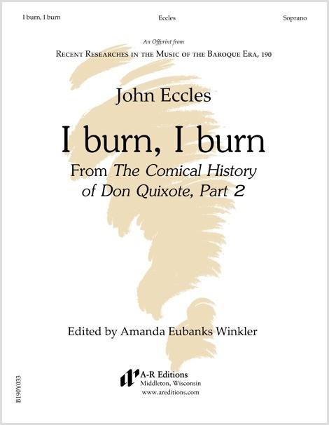 Eccles: I burn, I burn