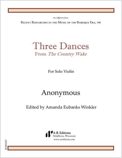 Anonymous: Three Dances