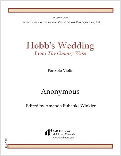 Anonymous: Hobb's Wedding