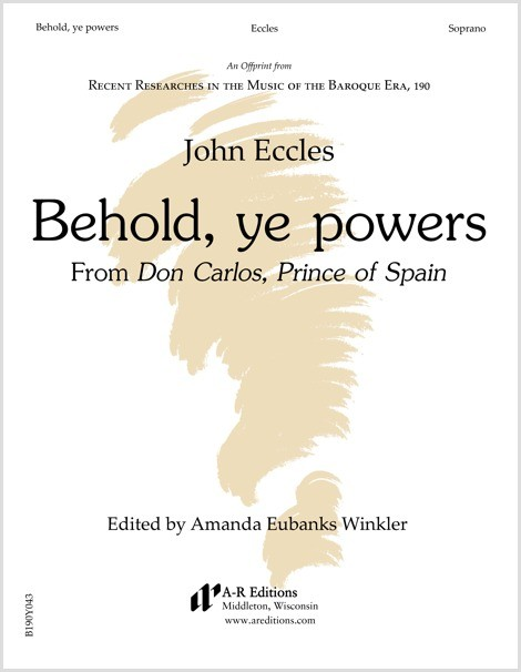 Eccles: Behold, ye powers
