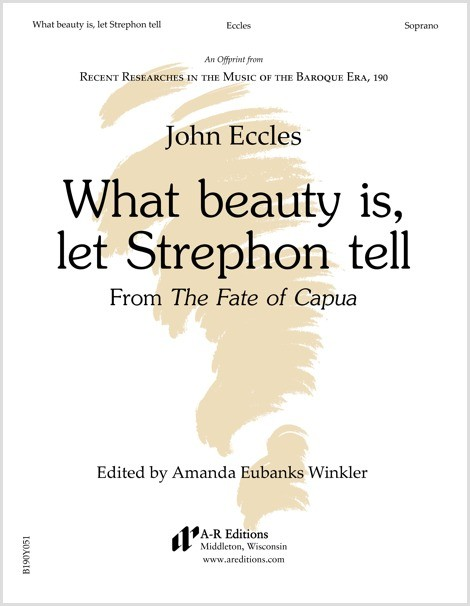 Eccles: What beauty is, let Strephon tell