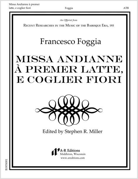Foggia: Missa Andianne à premer latte, e coglier fiori