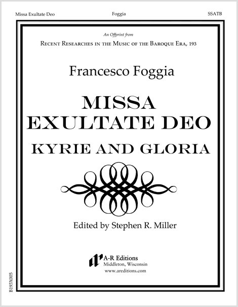 Foggia: Kyrie and Gloria from Missa Exultate Deo