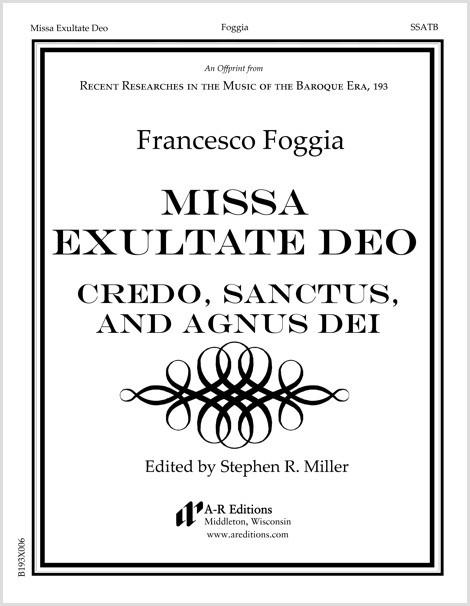 Foggia: Credo, Sanctus, and Agnus Dei from Missa Exultate Deo