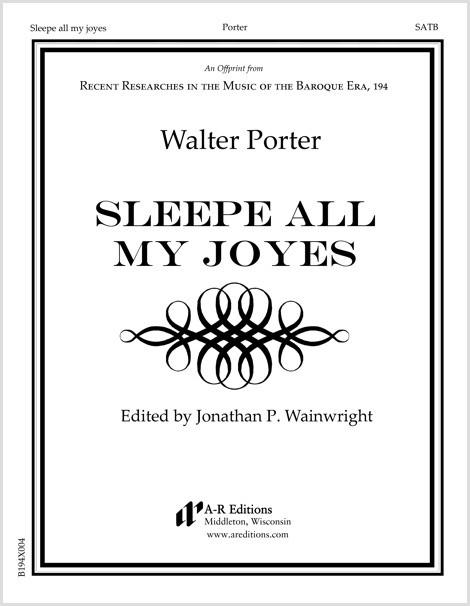 Porter: Sleep all my joyes