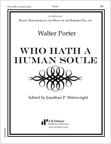 Porter: Who hath a human soule