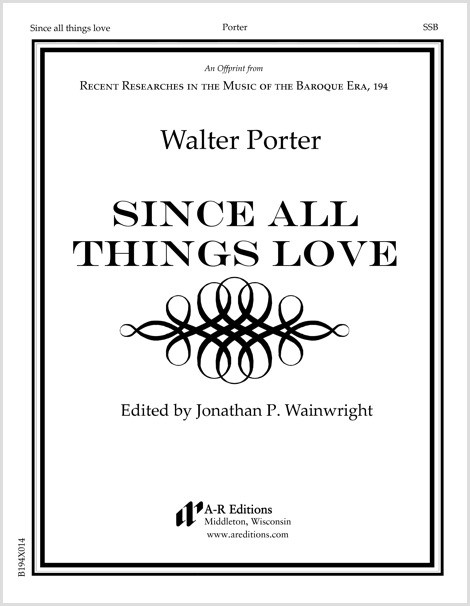 Porter: Since all things love
