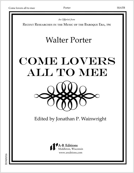 Porter: Come lovers all to mee