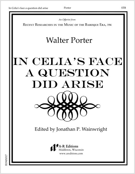 Porter: In Celia's face a question did arise