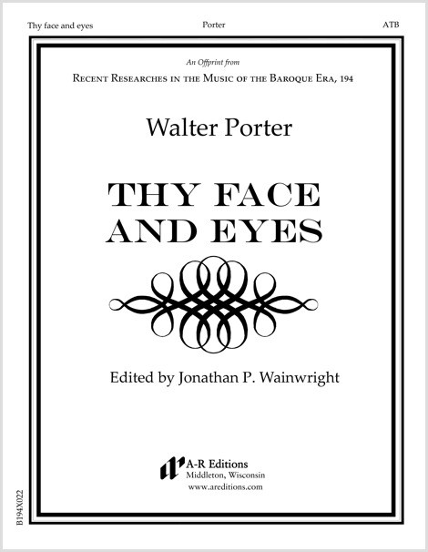 Porter: Thy face and eyes