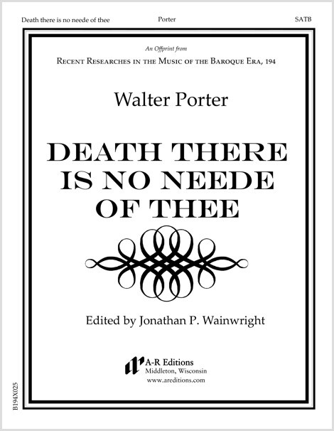Porter: Death there is no neede of thee