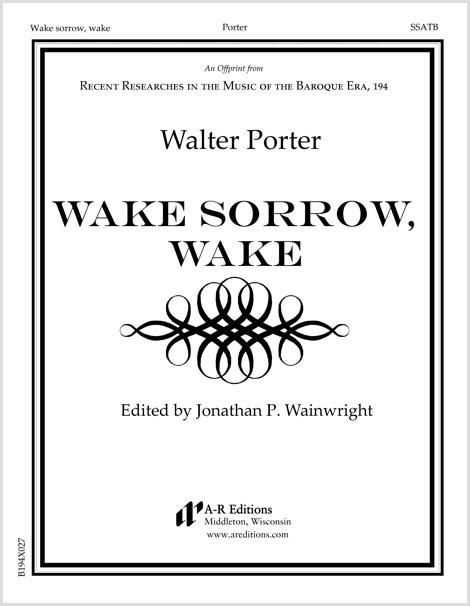 Porter: Wake sorrow, wake