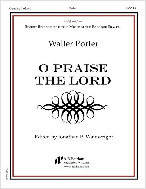 Porter: O praise the Lord