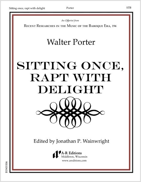 Porter: Sitting once, rapt with delight