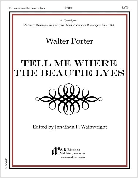 Porter: Tell me where the beautie lyes