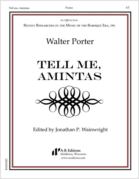 Porter: Tell me, Amintas