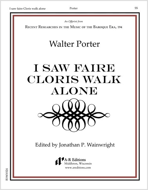 Porter: I saw faire Cloris walk alone