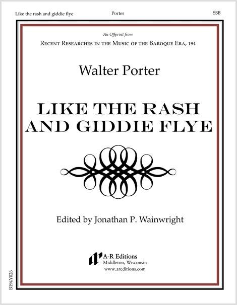 Porter: Like the rash and giddie flye