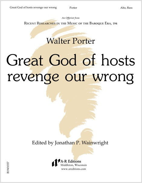 Porter: Great God of hosts avenge our wrong