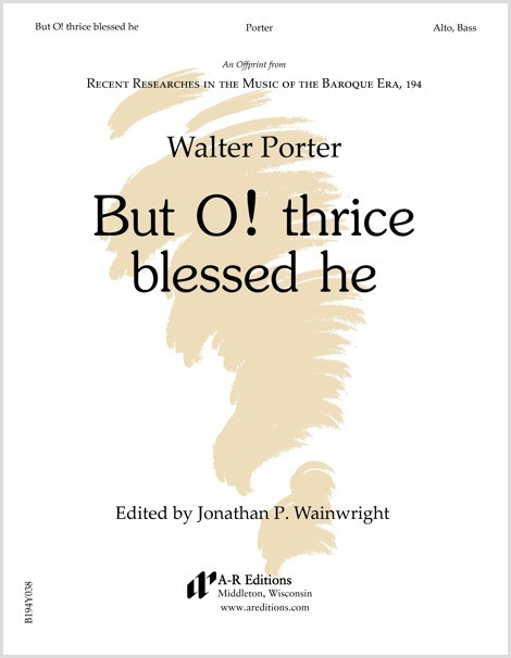 Porter: But O! thrice blessed he