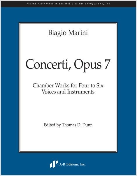 Marini: Concerti, Opus 7