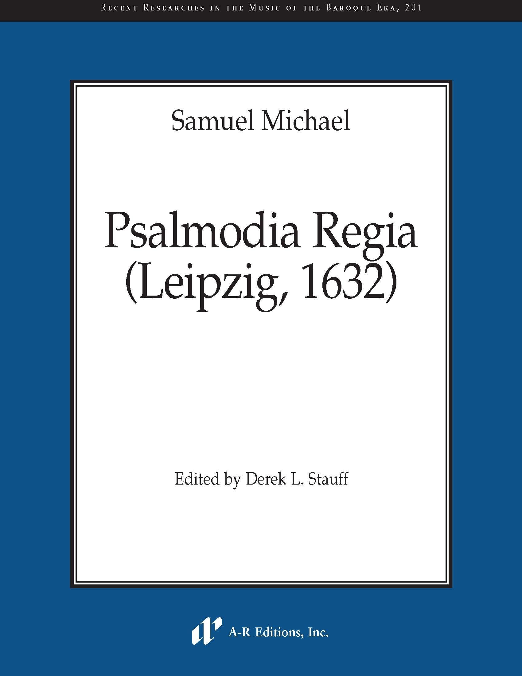 Michael: Psalmodia Regia (Leipzig, 1632)
