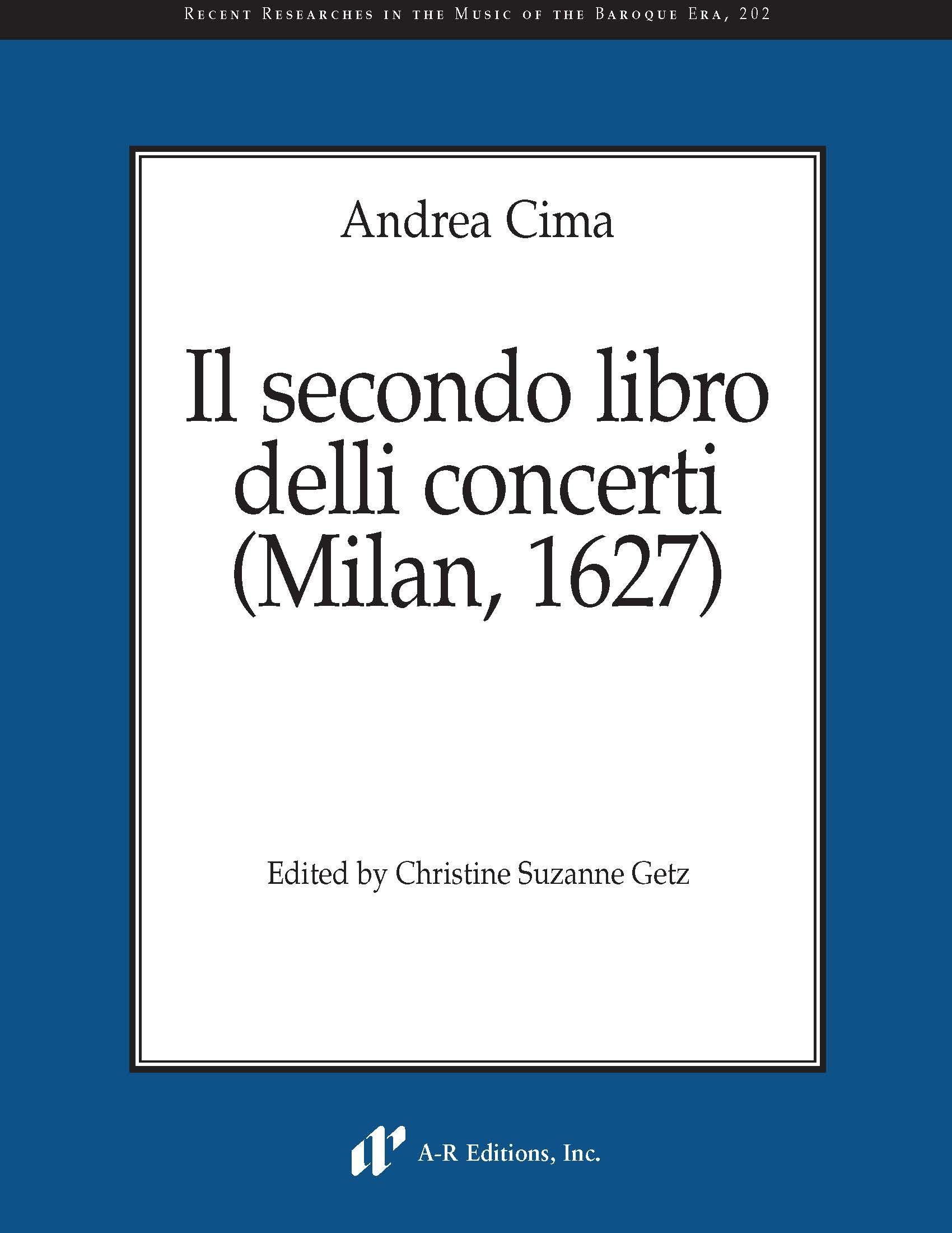 Cima: Il secondo libro delli concerti (1627)
