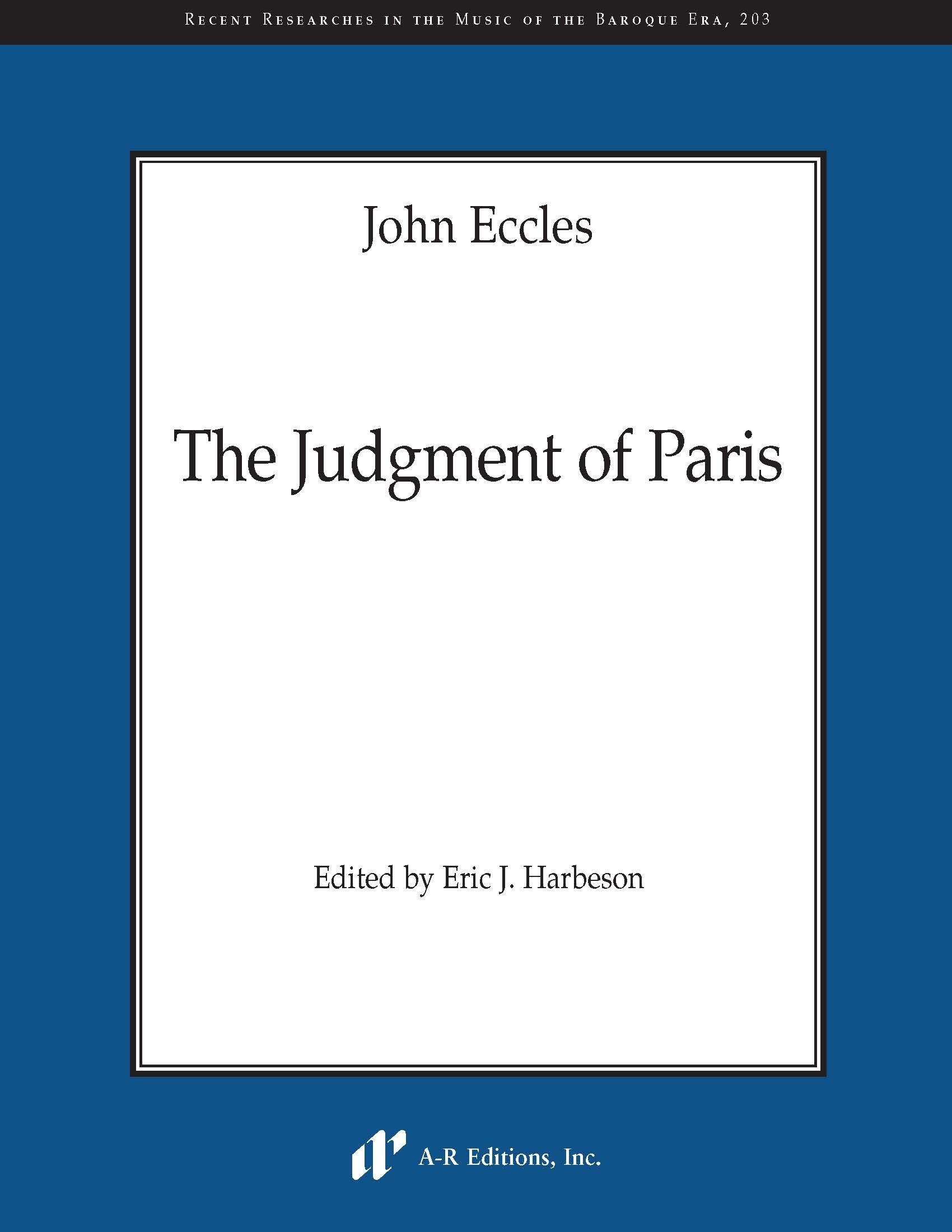 Eccles: The Judgment of Paris