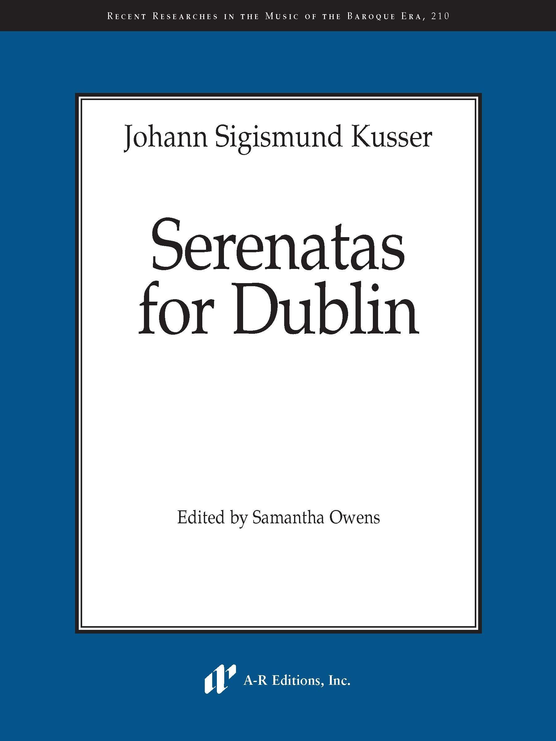 Kusser: Serenatas for Dublin
