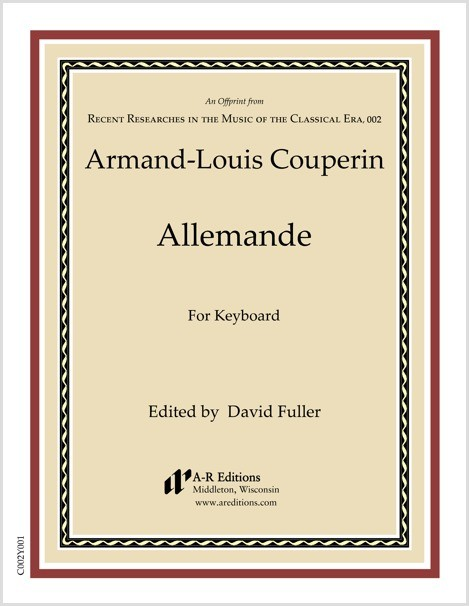 Couperin: Allemande