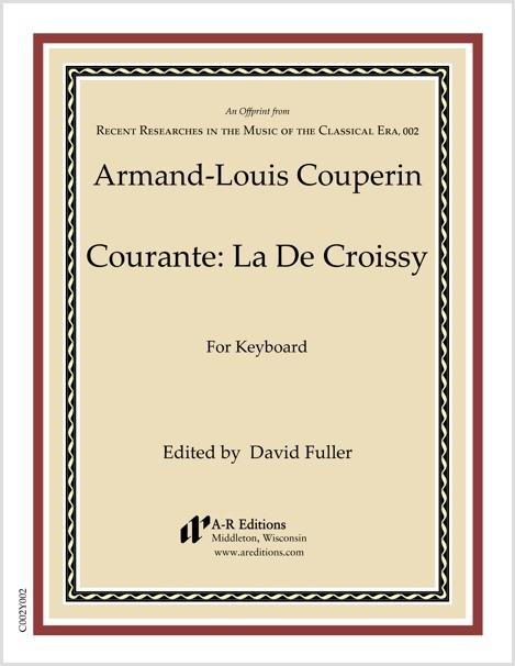 Couperin: Courante: La De Croissy