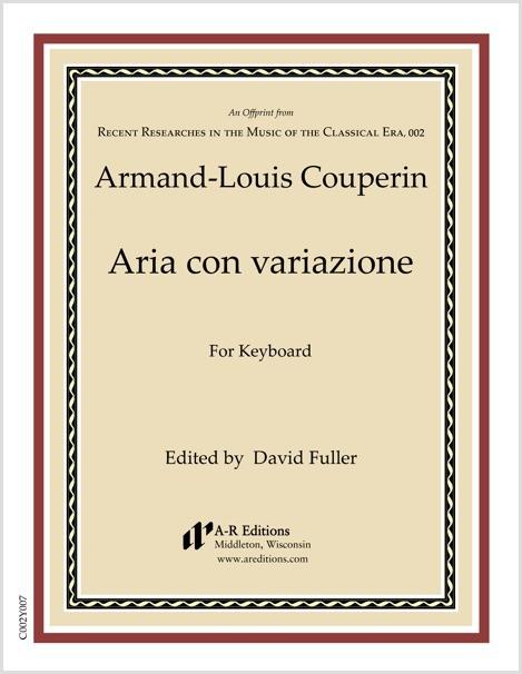 Couperin: Aria con variazione