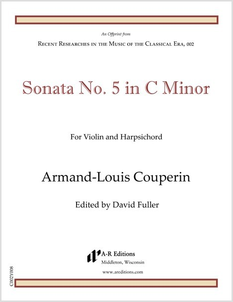 Couperin: Sonata No. 5 in C Minor