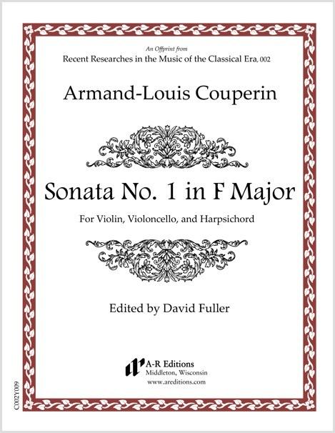Couperin: Sonata No. 1 in F Major