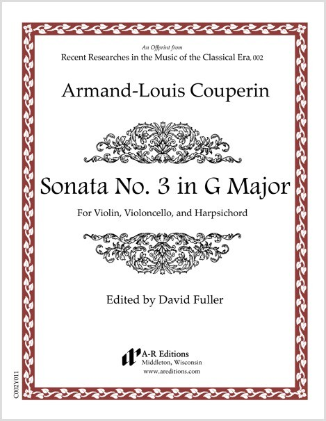 Couperin: Sonata No. 3 in G Major