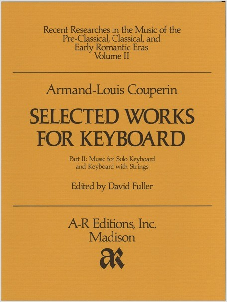 Couperin: Selected Works for Keyboard, Part 2