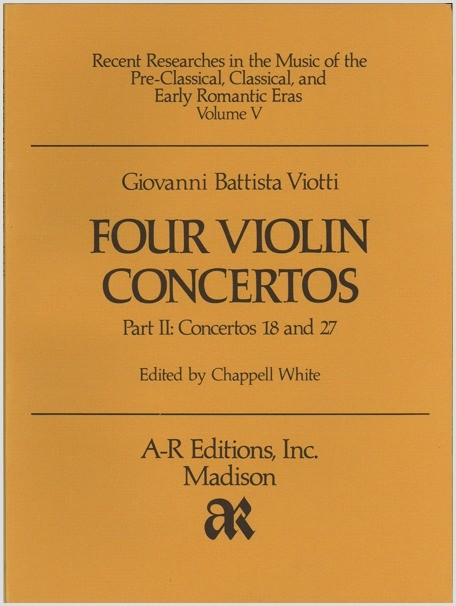 Viotti: Four Violin Concertos, Part 2