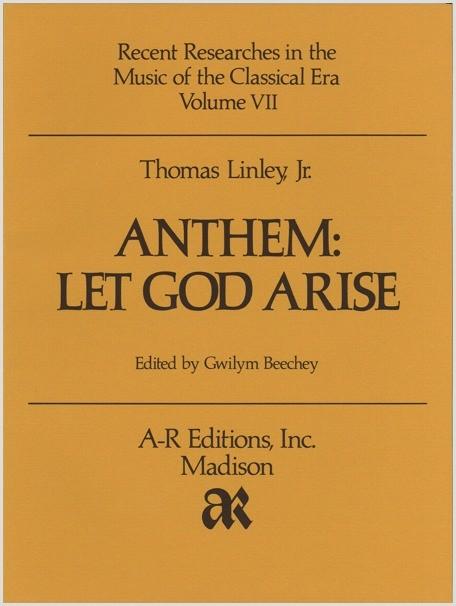 Linley, Jr.: Anthem: Let God Arise