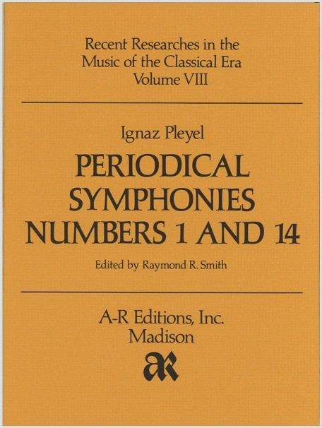 Pleyel: Periodical Symphonies Nos. 1 and 14