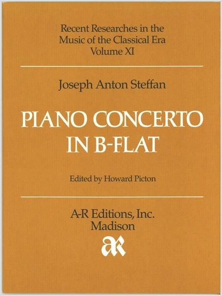 Steffan: Piano Concerto in B-flat