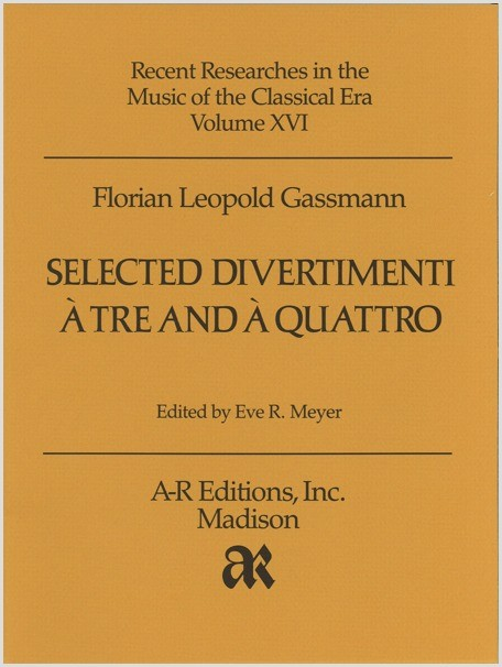 Gassmann: Selected Divertimenti à tre and à quattro