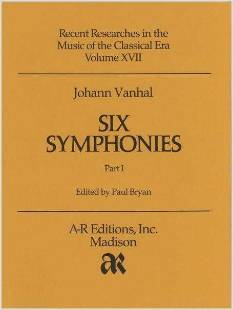 Vanhal: Six Symphonies