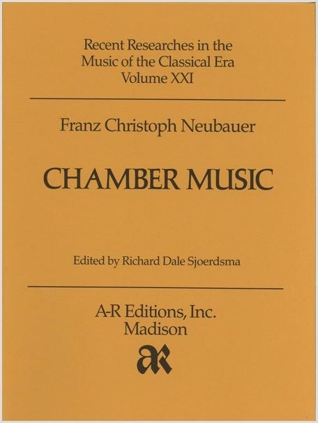 Neubauer: Chamber Music